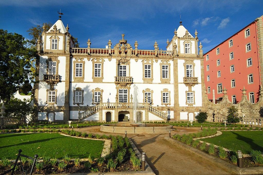 Palácio do Freixo - Fachada