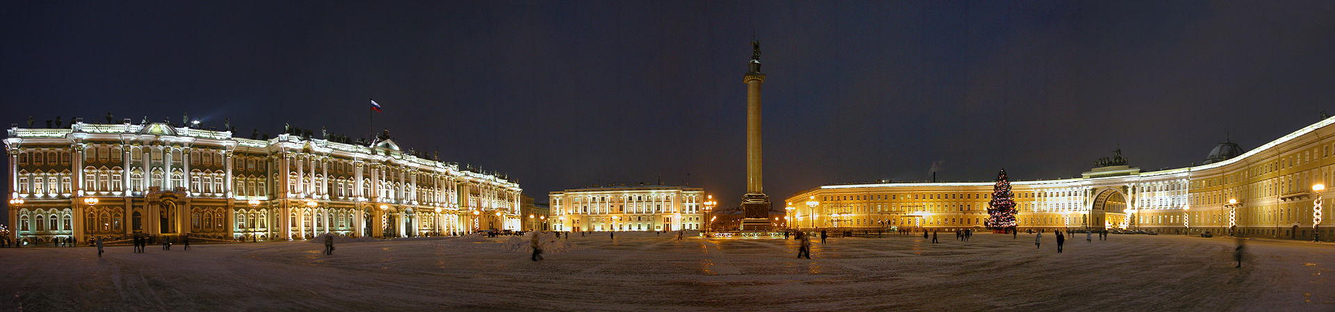 Image depicting the Palace Square in St. Petersburg.