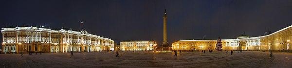 Place du Palais (Saint-Pétersbourg) — Wikipédia