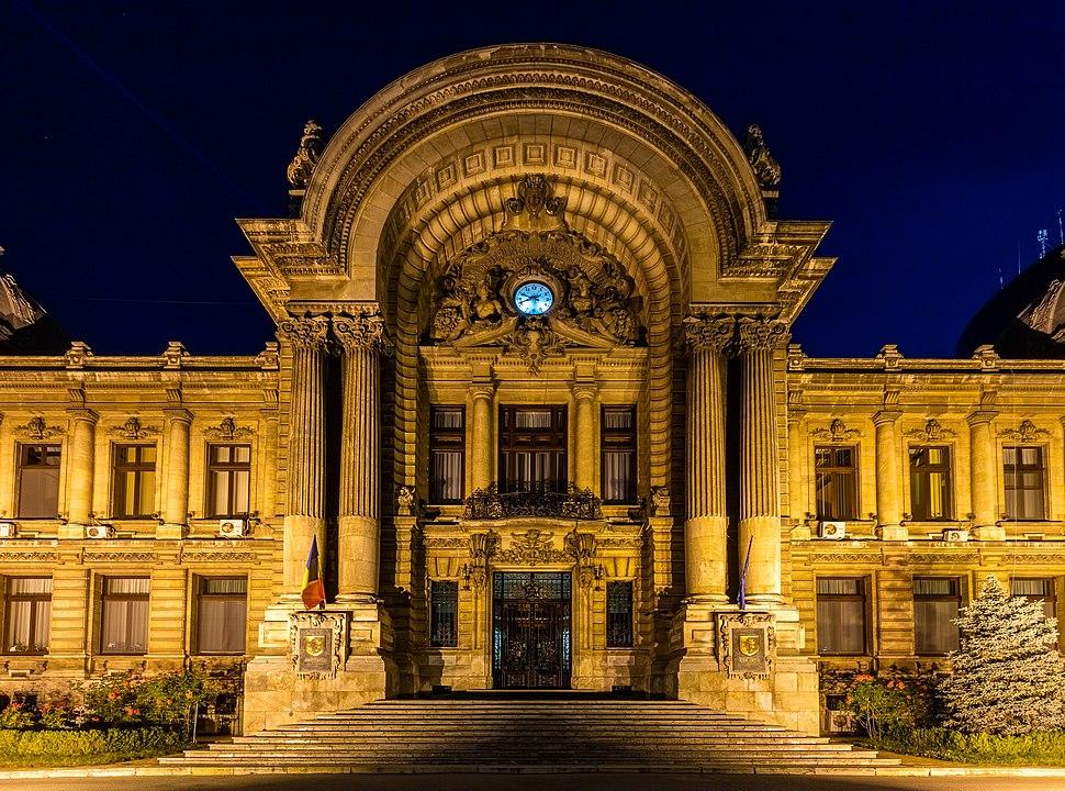 Palacio CEC, Bucarest, Ruman%C3%ADa, 2016-05-29, DD 85-87 HDR