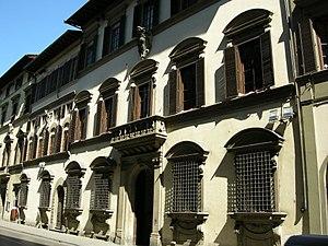 Palazzo Capponi-Covoni - Facade