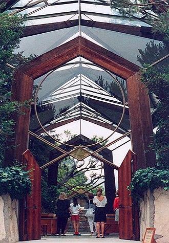 Wayfarers Chapel - Image: Palos Verdes Wayfarers Chapel 01