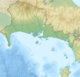 Panama Chiriqui relief map.png