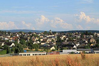 Großmaischeid - Großmaischeid from the North in June 2012