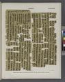 Papyrus. Hieratischer Papyrus aus Theben (Thebes). No. VII, Lin. 65-105. (jetzt im K. Museum zu Berlin.) (NYPL b14291191-44349).tiff