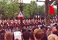París, Desfile del 14 de Julio en la Avenida de los Campos Elíseos. Paso del Regimiento de Coraceros a Caballo de la Guardia Republicana. - panoramio.jpg