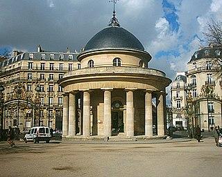 urban park in Paris, France