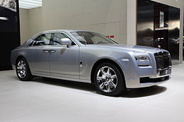 Paris - Mondial de l'automobile - Rolls Royce - Ghost - 04.JPG