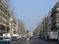 Paris - boulevard Ornano - looking North (from n°35).JPG