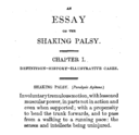 Parkinson, An Essay on the Shaking Palsy (edit)