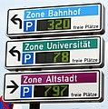 Parkleitsystem in Freiburg, seit Mai 2018 erneuert.jpg