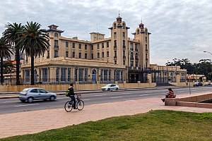 Mercosur - Headquarters of Mercosur, in the city of Montevideo, Uruguay.