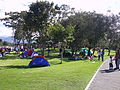 Parque simon bolivar camping.JPG