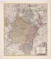 Pars summa, seu Australis Superioris Rheni Circuli , Complectens praeter Lotharingiae Ducatum, et Alsatiam Utramque, eti - urn-nbn-de-0128-1-11579.jpg