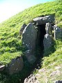 Passage entrance to Bryn Celli Ddu - geograph.org.uk - 564920.jpg