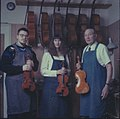 Paul Becker, Jenny Becker and Carl F. Becker, Luthiers.jpg