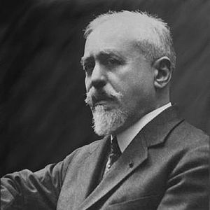 English: Paul Dukas (1865-1935), French composer.