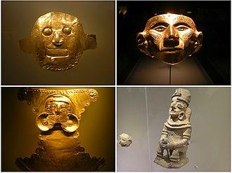 Gold Museum, Bogotá - Image: Peças do museu do ouro (3326024913)