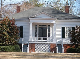 "Auburn, Alabama - Historic Scott-Yarbrough House,""Pebble Hill"" in Auburn, Alabama."