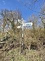 Pednor Bottom-Chesham street sign, March 2021 2.jpg