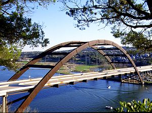 Pennybacker Bridge - Another view of the bridge