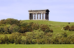 Penshaw Monument - Penshaw Monument, from Herrington Country Park