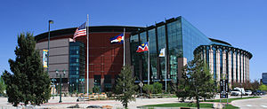 Das Pepsi Center in Denver (2009)