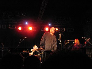 Français : Pere Ubu en concert au Circolo degl...