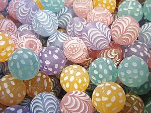 Pastel (color) - Image: Perles pastel