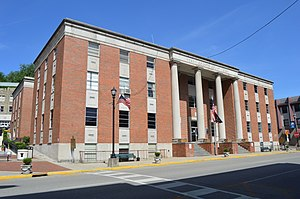 Perry County, Kentucky - Image: Perry County Courthouse, Hazard