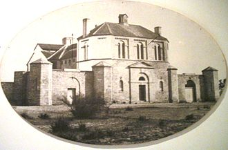 History of Perth, Western Australia - Perth Gaol building in the 1860s