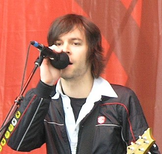 Chevelle (band) - Vocalist and guitarist Pete Loeffler performing in 2007