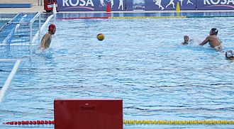 Rules of water polo - Image: Peterac