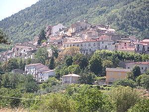 Pettorano sul Gizio - Image: Pettorano sul Gizio