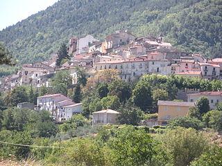 Pettorano sul Gizio Comune in Abruzzo, Italy