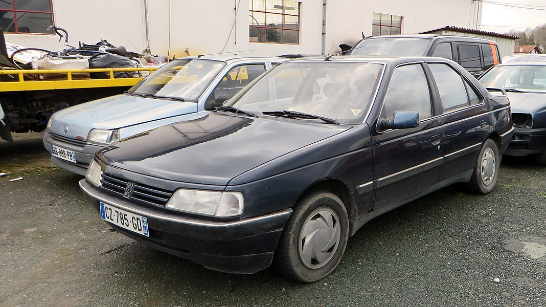 1988 Peugeot 405 SRD-turbo Phase I