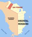 Ph locator oriental mindoro san teodoro.png