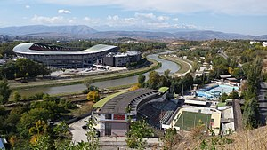 Football in the Republic of Macedonia - The Philip II Arena in Skopje is the home of the Macedonia national football team