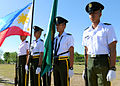 Philippine Army officer cadets stand on the parade grounds during Balikatan 2013 at Camp O'Donnell, Philippines, April 6, 2013 130406-F-HL283-061.jpg