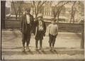 Photograph of Louis Gabriel (13 years old) and brother Eddie (10 years old) and Johnnie (7 years old) - NARA - 306617.tif