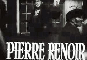 Pierre Renoir - Pierre Renoir in US trailer for Children Of Paradise (1945)