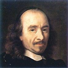 Detalhe de um retrato de Charles Le Brun