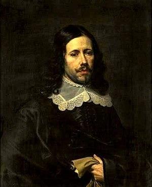 Pieter van Lint - Self-portrait
