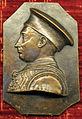 Pietro da fano, placchetta di ludovico III gonzaga.JPG