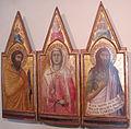 Pietro lorenzetti, santi bartolomeo, cecilia, giovanni battista, 1332, 01.JPG