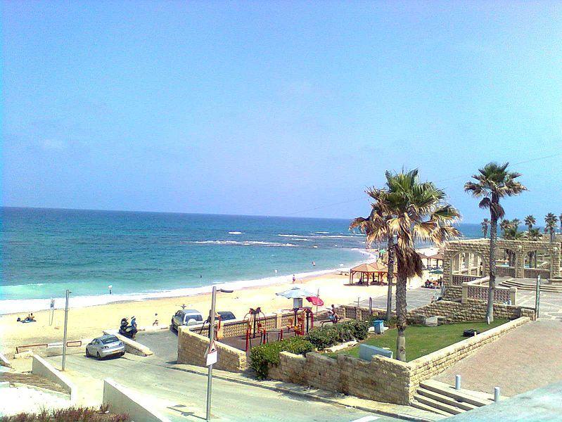 חוף גבעת עליה- ממרכז פרס