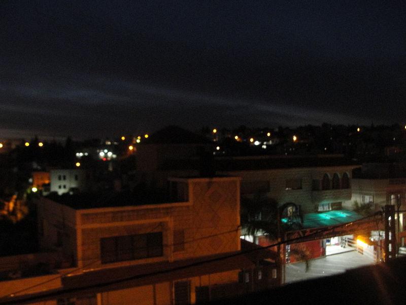 באקה אלגרביה בשעות הלילה