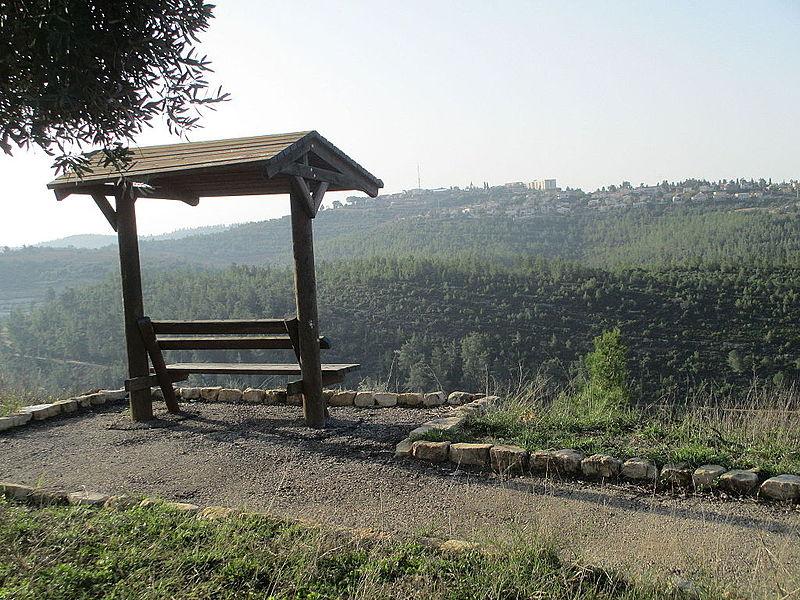 מצפור לוקי ביער נווה אילן