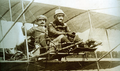 Pilot and observer in a Henry Farman airplane.png