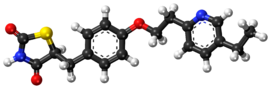 Pioglitazone ball-and-stick model.png
